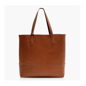 J. Crew Bags - J. Crew Leather Downing Tote in English Saddle